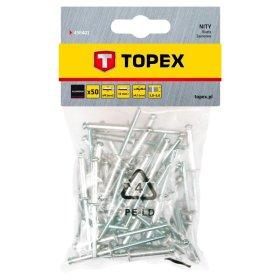 Aliumininės kniedės TOPEX 43E401