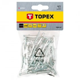Kniedės TOPEX 43E505