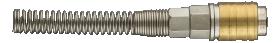 Jungtis - greito jungimo mova su spyruokle NEO  (D38/10, 12-602) 8 x 10 mm