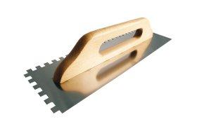 Trintuvė PAINTER, 480x130mm, dantyta 10x10mm, nerūd. plienas, medinė rankena, PAC1721