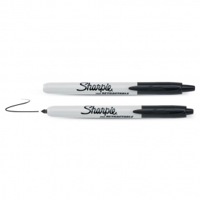 Žymeklis SHARPIE RETRACTABLE, 09-810840