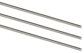Vamzdeliai DOLLE PRO 3 5S/A Matmenys 10 x 2000 mm, nerūdijantis plienas, 3 vnt.