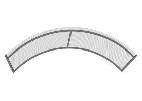 Stogelis STARKEDACH R-160 Matmenys 6 x 1600 x 1000 mm, arka, pilkos spalvos, UŽS
