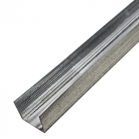 Horizontalus profilis  Profiline UW50 Matmenys 50 x 37 x 0,6 mm, ilgis - 3 m