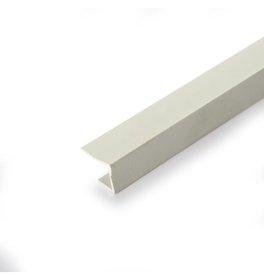 PVC užbaigimo profilis  J Ilgis 3 m