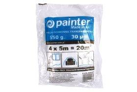 Apsauginė plėvelė PAINTER, LDPE, 30 mkr, 4 m x 5 m, skaidri, FOL0557