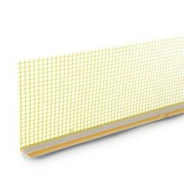 PVC profilis polistirolui EJOT 108 Storis 6 mm, ilgis 2,4 m, popalanginis UŽS
