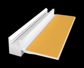 PVC profilis polistirolui EJOT 108