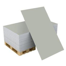 Gipso kartono plokštė GKP S Matmenys 1200 x 2600 x 12,5 mm, 1 vnt - 3,12 m2,
