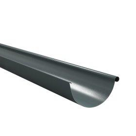 Latakas BILKA  2 m Skersmuo 125 mm, grafito spalvos, RAL7011