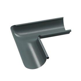 Latako vidinis kampas BILKA  Skersmuo 125 mm, grafito spalvos, RAL7011
