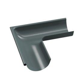 Latako išorinis kampas BILKA  Skersmuo 125 mm, grafito spalvos, RAL7011