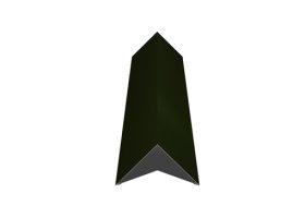 Kraigas   Matmenys 140 x 140 x 2000 mm, žalios spalvos, RR11/RAL6020, UŽS