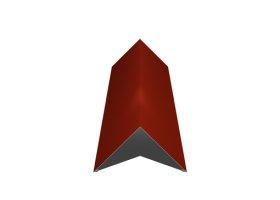Kraigas   Matmenys 140 x 140 x 2000 mm, raudonos spalvos, RR29/RAL3009, UŽS