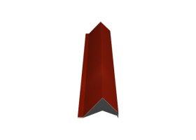 Vėjalentė   Matmenys 80 x 100 x 2000 mm, raudonos spalvos, RR29/RAL3009, UŽS