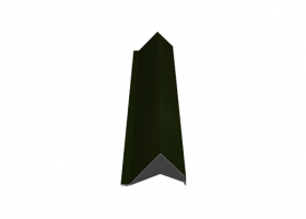 Vėjalentė   Matmenys 80 x 100 x 2000 mm, žalios spalvos, RR11/RAL6020, UŽS