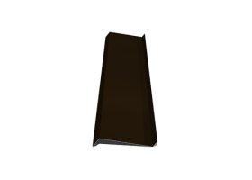 Palangė   Matmenys 150 x 2000 mm, rudos spalvos, RR32/RAL8019