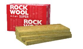 Akmens vata ROCKWOOL SUPERROCK Matmenys 200 x 610 x 1000 mm, 1 pak. -  0,488 m³, universalios vatos plokštės 127423 UŽS