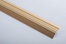 Aliumininė grindų juostelė  H 01 D1 3,2 x 180 cm, mat.aukso spalvos, kilmės šalis ES