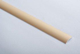 Aliumininė grindų juostelė  H 02 D1 2 x 90 cm, mat.aukso spalvos, kilmės šalis ES