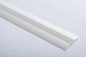 Aliumininė grindų juostelė  H 08 D2 3,8 x 270 cm, mat.sidabro spalvos, kilmės šalis ES
