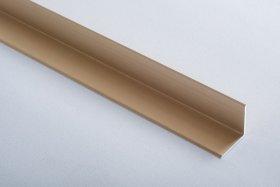 Aliumininė laiptų juostelė  H 29 D1 2 x 2 x 90 cm, mat.aukso spalvos, kilmės šalis ES