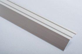 Aliumininė grindų juostelė H 04 D2 3,9 x 180 cm, mat.sidabro spalvos, kilmės šalis ES