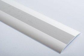 Aliumininė grindų juostelė H 05 D2 3,8 x 180 cm, mat.sidabro spalvos, kilmės šalis ES