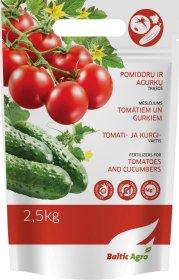 Trąšos pomidorams ir agurkams 2,5 kg