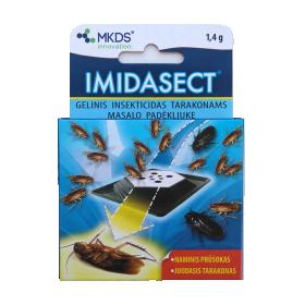 Gelinis insekticidas tarakonams MKDS Imidasect masalo padėkliuke, 1,4 g
