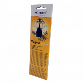 Magnet garderobe - drabužinių kandžių gaudyklė