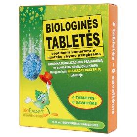 Biologinės tabletės lauko tualetų priežiūrai