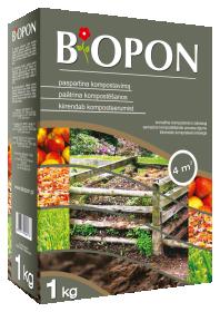 Kompostavimą spartinanti priemonė  BIOPON 1 kg.