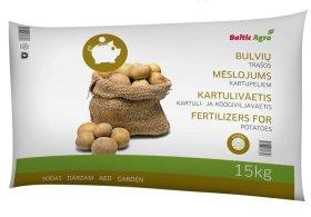 Trąšos bulvėms  EKONOM 15 kg.