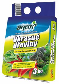 Trąšos AGRO  skirtos dekoratyviniams medžiams ir krūmams, NPK (Mg) 8-10-17 + 6 MgO; 3 kg, N