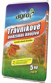 Rudeninės trąšos vejoms AGRO  NPK (Mg, S) 6-8-20+ (7,3-28), 5 kg