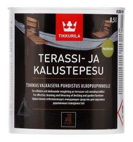 Universalus valiklis TIKKURILA TERRASSI JA KALUSTEPESU, 0,5 l