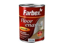 Alkidinė emalė FARBEX PF-266, 0,9 l, geltonai rudos spalvos, grindims bei betono paviršiams