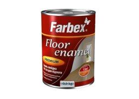 Alkidinė emalė FARBEX PF-266, 0,9 l, raudonai rudos sp., grindims bei betono paviršiams