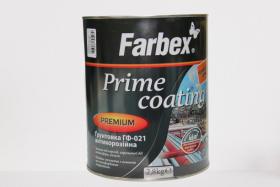 Antikorozinis alkidinis gruntas su rūdžių rišikliu Farbex GF-021, 2,8 kg