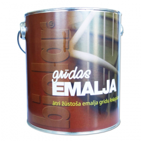 Grindų dažai BIOLAR, 2,6 l, rudos sp., greitai džiūstantys