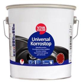 Antikorozinis gruntas metalui VIVACOLOR UNIVERSAL KORROSTOP, 3 l