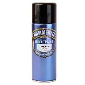 Aerozoliniai antikoroziniai dažai HAMMERITE SMOOTH, 400 ml