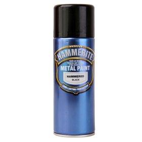 Aerozoliniai antikoroziniai dažai HAMMERITE HAMMERED, 400 ml