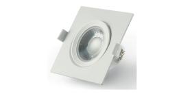Montuojamas šviestuvas ORRO IM1082, LED 5 W, 220-240 V, 400 lm, 3000 K, 25.000 val., kvadrtinis, baltas, A171030078