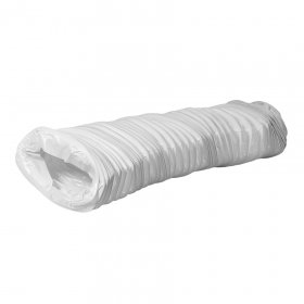 Ortakis EUROPLAST PVC Flex, vielos pagrindu, d110 mm x 55 mm x 3 m, FV15-3