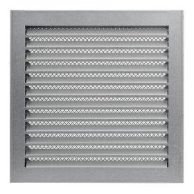 Grotelės EUROPLAST INDUSTRIAL, metalinės, 300 x 300 mm, cinkas, MRF3030Zn