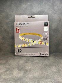 Šviesos diodų juosta EUROLIGHT TORONTO, LED 5 m, 14 W / m, IP20, 4000K, 24V, 1120 lm / m, S24-14W4-3YIP20