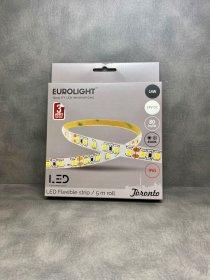 Šviesos diodų juosta EUROLIGHT TORONTO, LED 5 m, 14 W / m, IP65, 4000K, 24V, 1120 lm / m, S24-14W4-3YIP65