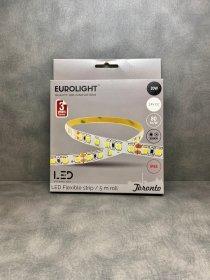Šviesos diodų juosta EUROLIGHT TORONTO, LED 5 m, 20 W / m, IP65, 3000K, 24V, 1600 lm / m, S24-20W3-3YIP65